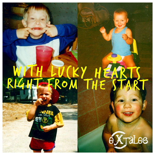 Album cover lucky hearts